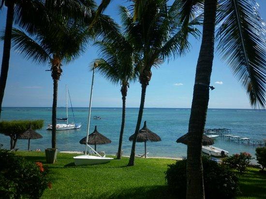 Canonnier Beachcomber Golf Resort & Spa: Devant notre chambre