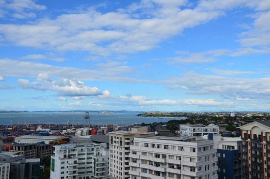 The Quadrant Hotel and Suites Auckland: Die Aussicht Richtung Nord-Osten