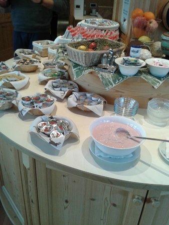 Garni Monti Pallidi: una vasta scelta per la colazione