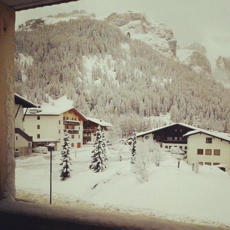 Garni Monti Pallidi: vista dal balcone