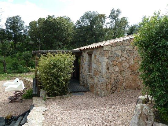 Les Jardins de Mathieu : Chambre