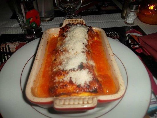 Casa di Stef: excellentes lasagnes !