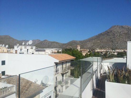 Mar Calma Hotel: View from the roof terrace