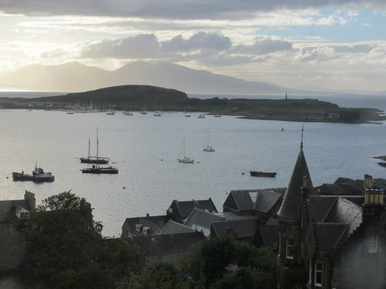 Dunheanish Guest House: View from our room