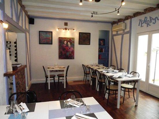 Restaurant Le Siralys : une photo vite fait avant que tous arrivent