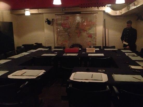 Cabinet room picture of churchill war rooms london tripadvisor - Churchill war cabinet rooms ...
