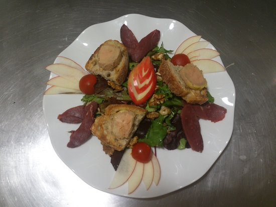 L'eternite St Pierre : salade du perigord