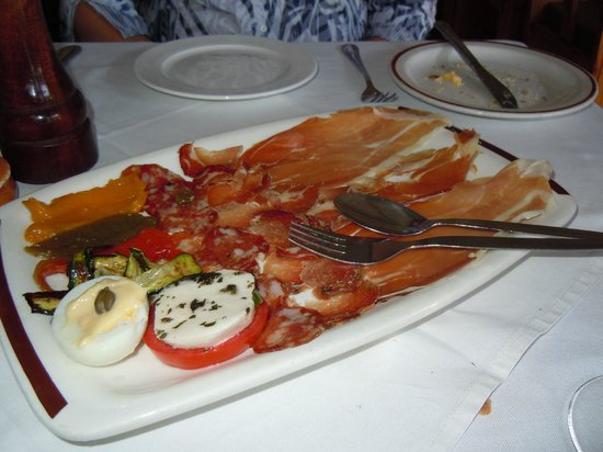 La Mama Restaurant: Antipasto platter