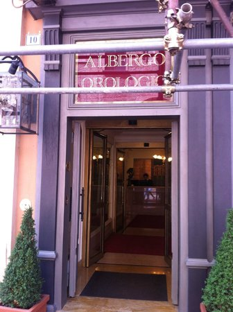 Art Hotel Orologio: Entré