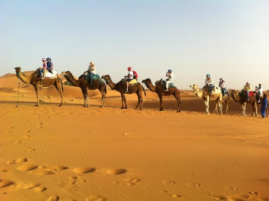 Auberge Ksar Sania: Desert Excursion was wonderful
