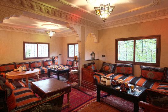 Dar Adrar: dinning room
