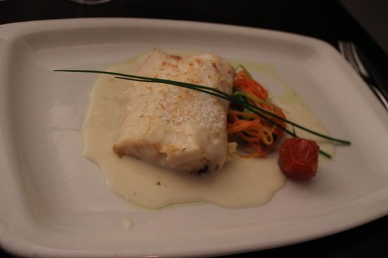 The Russell Restaurant: Oven Baked Cod