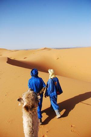 Guest House Merzouga: Woestijn