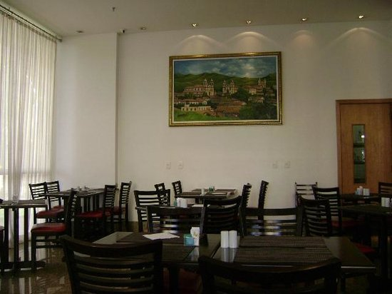 Nobile Suite Monumental: Área do restaurante no térreo