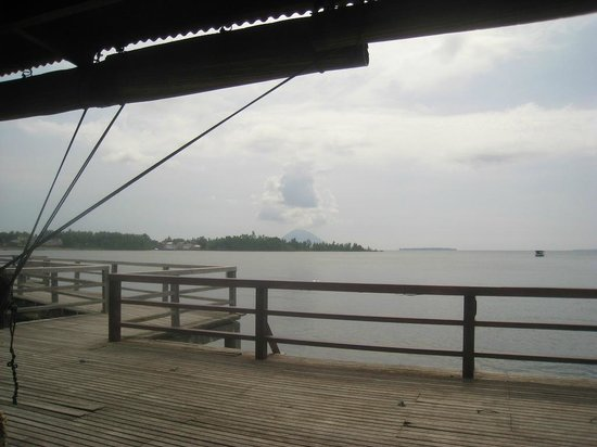 Cocotinos Manado: View from the restaurant