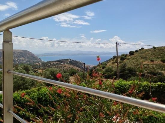 Lenikos Resort: vue sur Agia Galini