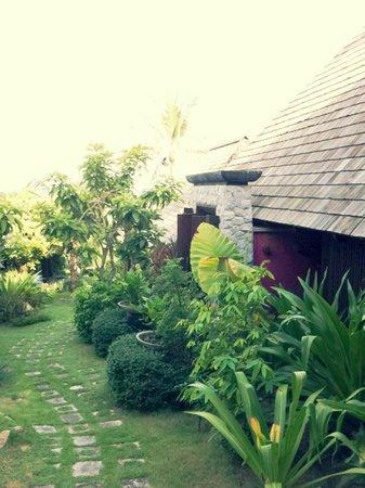 Bhundhari Spa Resort & Villas Samui: Spa area.