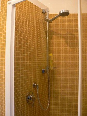 Hotel Roma Tiburtina : Shower