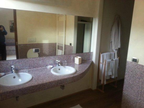 Villa Di Campolungo Agriturismo : the bathroom