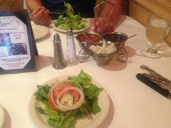 Los Ranchos Steakhouse: Salat