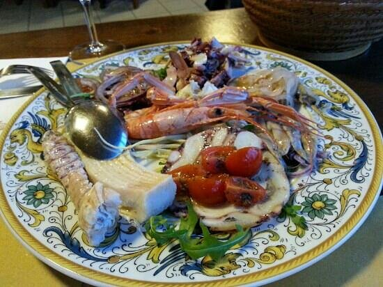 Capo Nero Tavern: questo pesce parla da solo!!!
