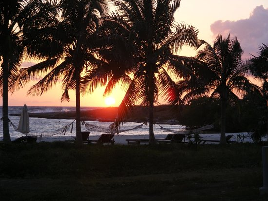 Melia Buenavista: Sunset beach at sunset!