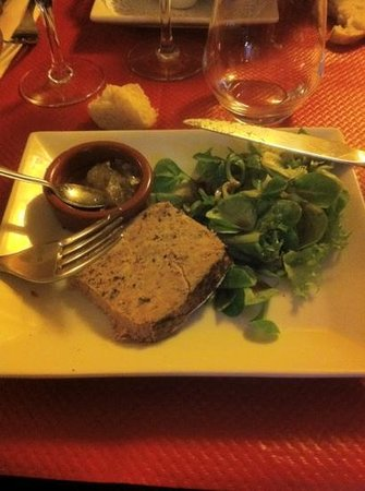 Made In Normandy: Terrine de campagne avec un petit confit excelent
