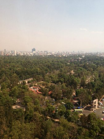 InterContinental Presidente Mexico City: View from room 2