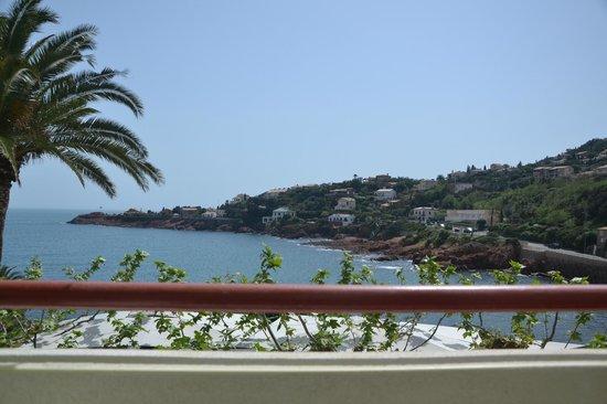 Les Flots Bleus : panorama dalla camera vista mare