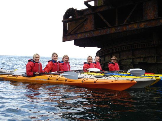 Ardmore Adventures: Visiting the wreck of  'The Samson'