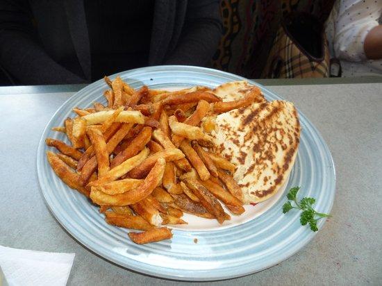 Swiss Chalet Rotisserie & Grill: flat bread sandwich