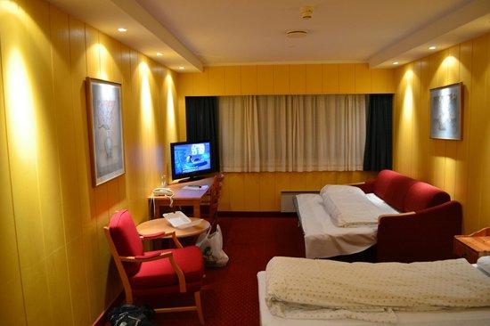 Ustedalen Hotel: Номер на троих