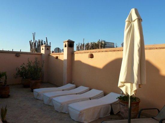 Riad Limouna: terrasse