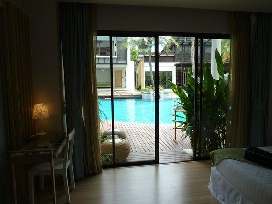 The Lapa Hua Hin Hotel: Utsikt från rummet
