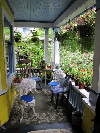 Ashby House Bed & Breakfast: la terrasse