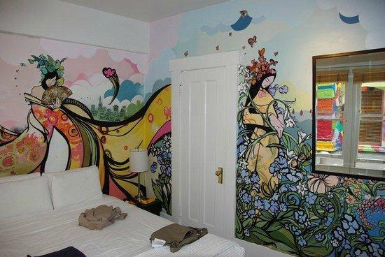 Hotel des Arts: Intérieur d'une chambre