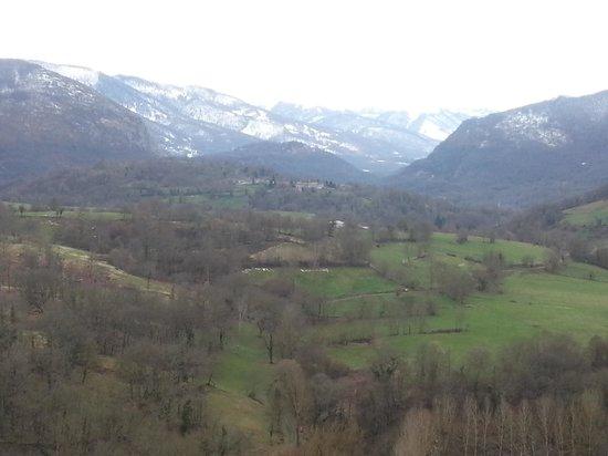 Murmures d'Arbres: Vu sur St Bertrand de Comminges