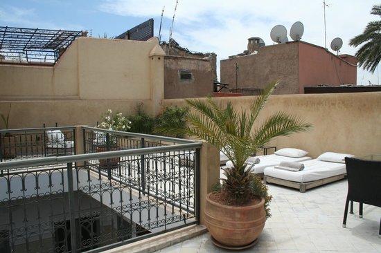 Riad Olema & Spa: Terrasse