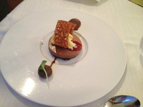 High Restaurant: Dessert vom Freund