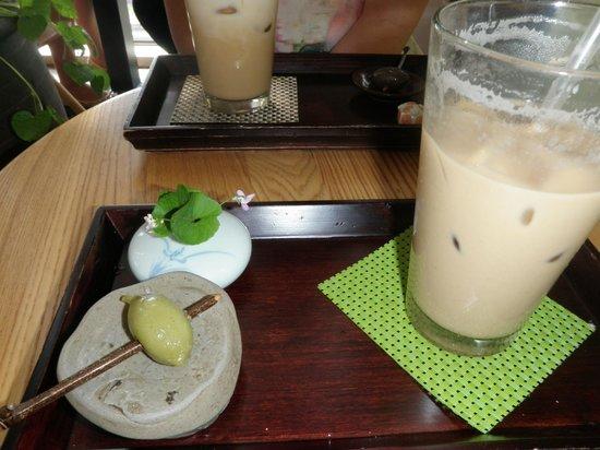 Gwangju Museum of Art: Drinks and rice things