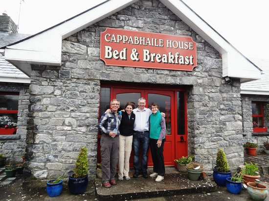 Cappabhaile House: Our fantastic host Conor