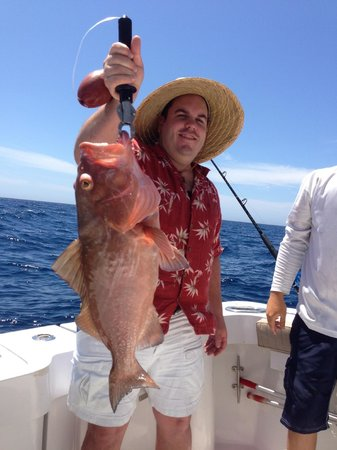 Grouper picture of reel fish n sea deep sea fishing for Deep sea fishing fort myers beach