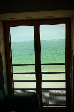 Hotel Ker-Moor : la vue de la chambre, extra !