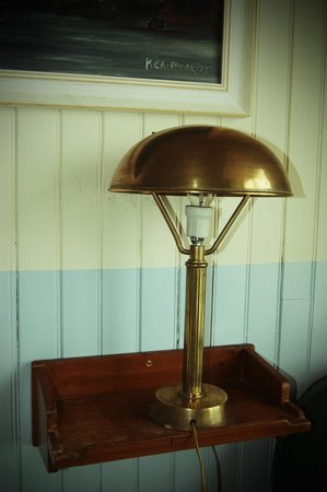 Hotel Ker-Moor : lampe