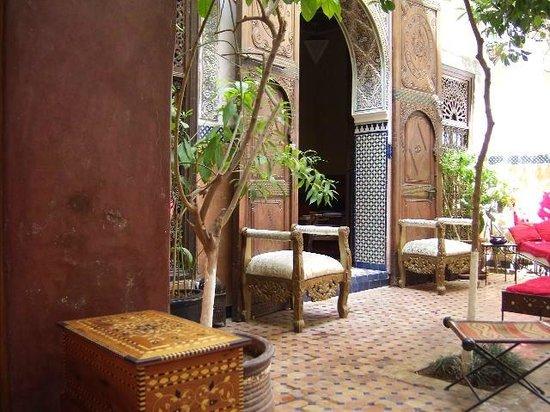 Riad Jenaï : Courtyard