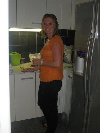 Casa nas Serras: Angelique maakt het ontbijt klaar ...