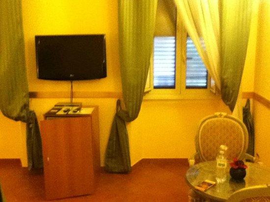 Residenza Gens Julia: TV and window
