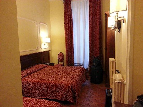 Hotel California Florence: stanza