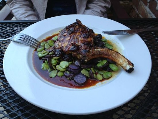 Maxwells On Main Street: The porc chop at MOM's