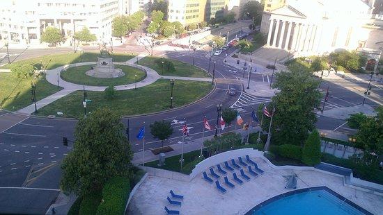 Washington Plaza: view from room 940